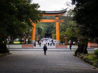 Second torii