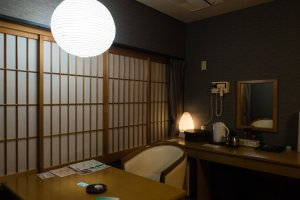 Japanese elements of decor