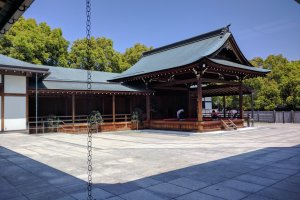 Nohrakudo, the noh drama theater