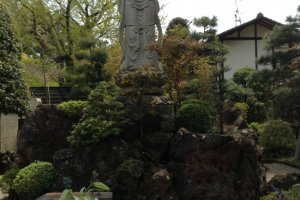Keep a look out for Buddhist figures or statuary around the temple grounds.