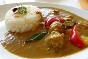 Curry at the museum restaurant