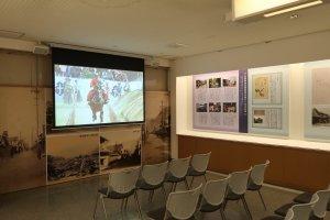 Video về cưỡi ngựa bắn cung, nhảy Tsuwano và nhảy Heron