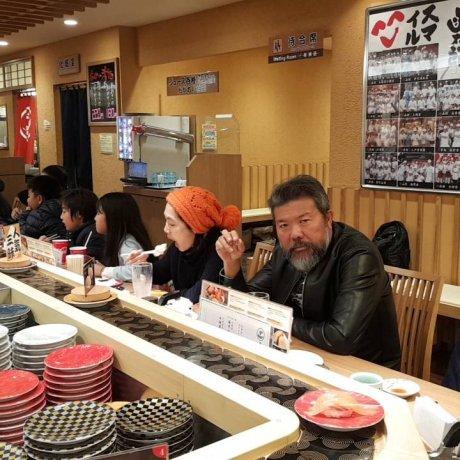 ทานซูชิเลิศรสที่ Kantaro Sushi