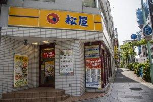 Matsuya es un restaurante de cadena clásico y accesible
