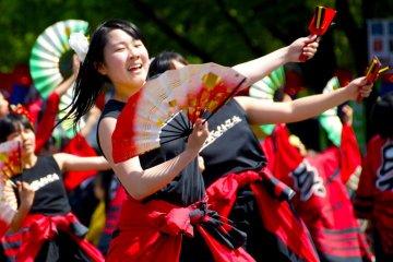 Yosakoi Parade - Flower Festival