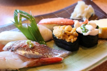 Sushi is one of Japan's most recognisable delicacies