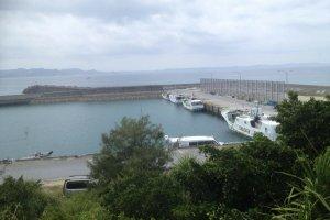 Le port de Kudaka