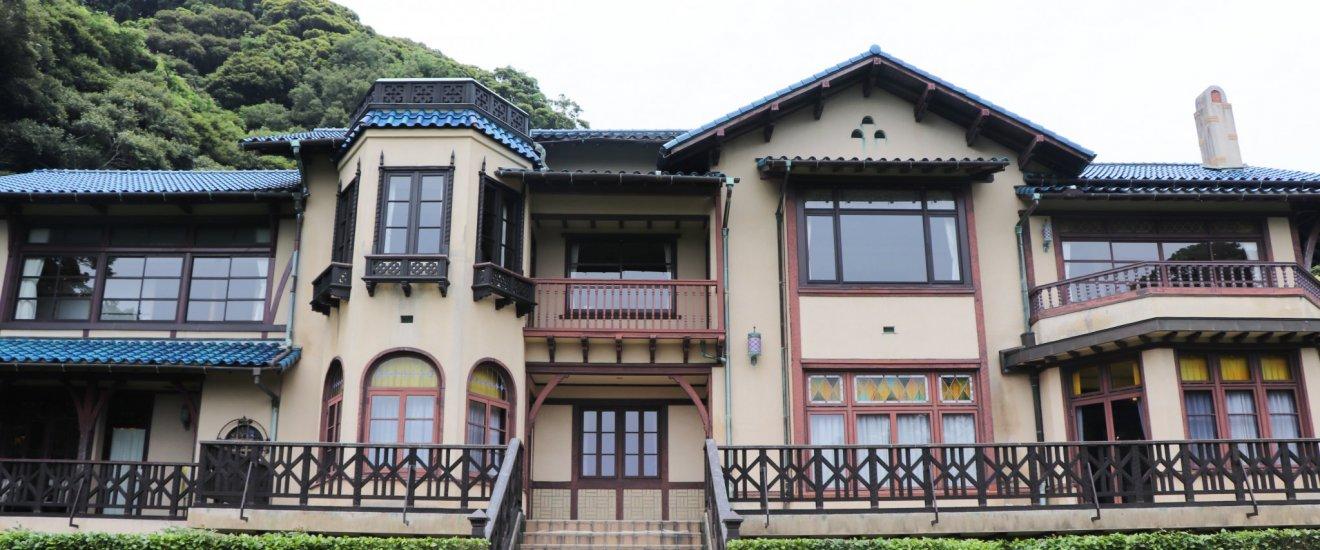 Kamakura Museum of Literature\'s architecture is European inspired.