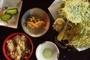 A tasty tempura.