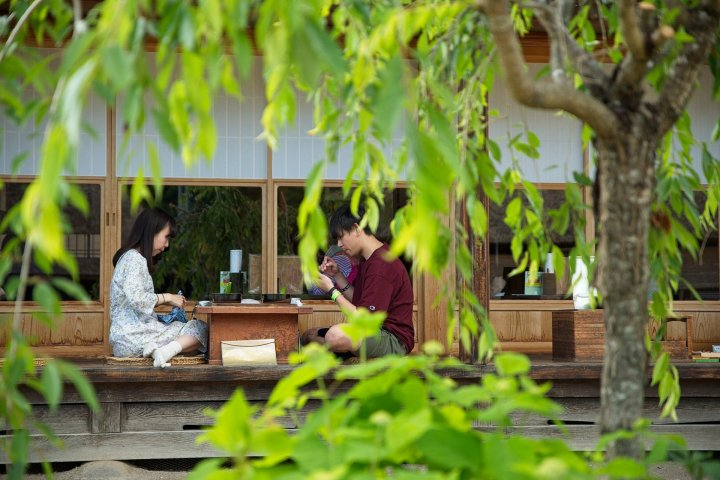 Một ngày hè ở khu phố Ouchi-Juku