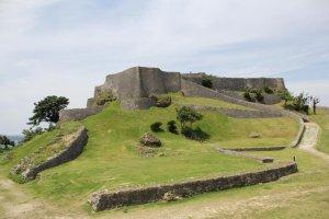 Katsuren Castle Ruins in Uruma City is a UNESCO World Heritage Site