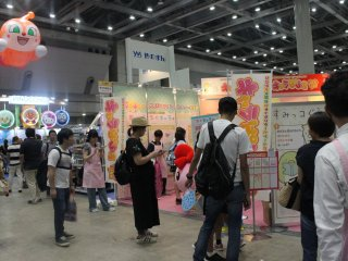 Children, together with their parents explored the entire place filled with toy booths.