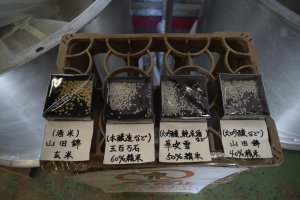 A look at the different rice grains used to make the products