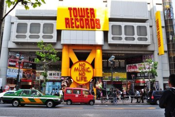 Tower Records signage is both iconic and easily recognisable