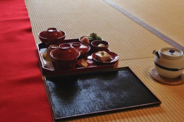 อาหารของชาวพุทธเซน ในเกียวโต