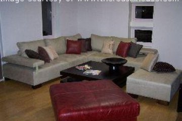 Relax on the main floor lounge after a long day