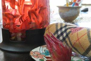 Hibiscus tea is medicine in Okinawa