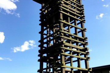 Посетители могут забраться на сторожевую башню
