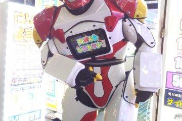 <p>Установленные на улице андроиды помогут убедиться, что вы на правильном пути к ресторану.</p>