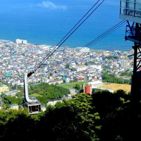 O Teleférico de Hakodate