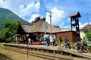 Stasiun Yunokami-onsen