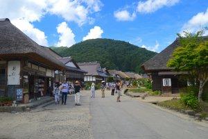 Lối vào Ōuchi-juku