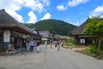 Entrance to Ōuchi-juku