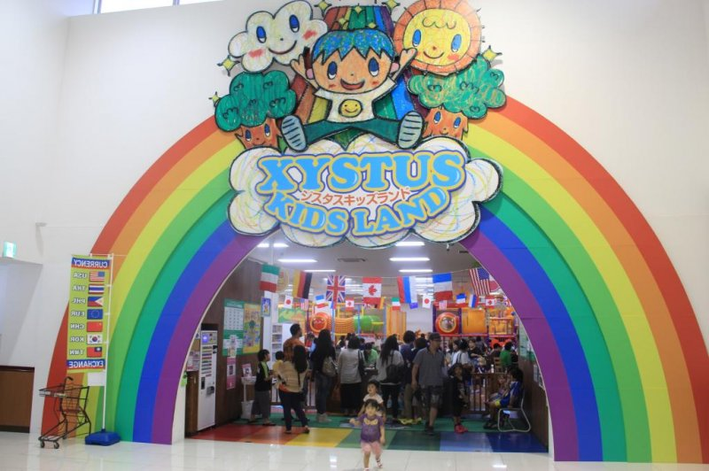 <p>Xystus Kids Land is located on the second floor of the Uruma City Plaza Shopping Mall just down the Street from the San A Main City on Route 85</p>