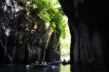 Rent out a boat and explore the gorge