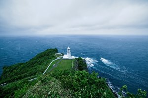 The view from Cape Chikyu is stunning and still much wider than in this picture