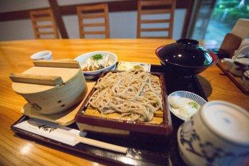 Soba Set at Senseki Restaurant
