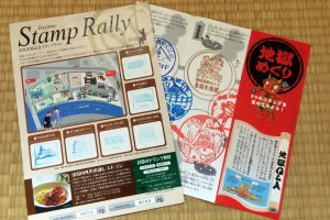 Stamp rallies from tourist destinations