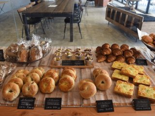 A delicious on-site bakery also awaits!