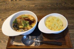 Sanratan - hot and sour soup
