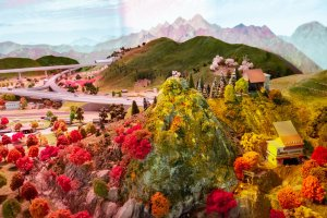 Maglev Diorama - The Future of Yamanashi