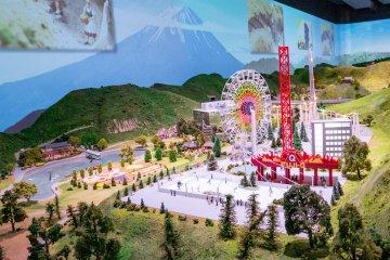 Maglev Diorama - featuring Fuji-Q Highland