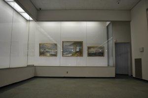 Exposition au sein du NSG art museum