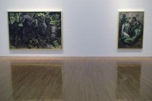 Some of Inakuma's paintings