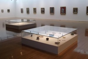 One of the galleries