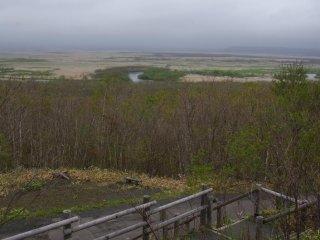 Vùng đất ngập nước rộng lớn của vườn quốc gia