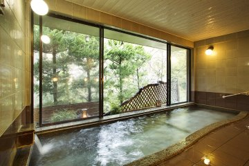 Natural public onsen