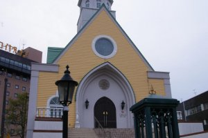 Chapel next to the station