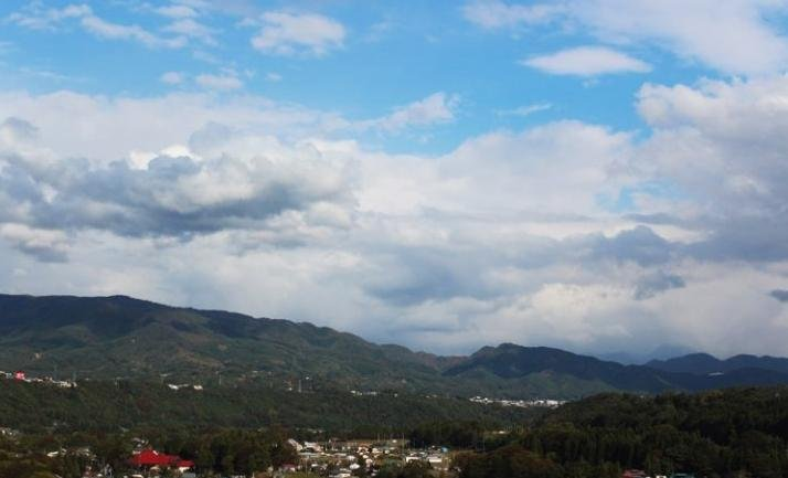<p>Small town that I overlooked from highway to Gunma Prefecture.</p>