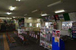 Pemberhentian terakhir yang sepi, Stasiun Nemuro