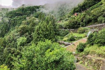 Iya Valley's steep slopes