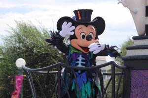 Mickey Mouse in Halloween mode
