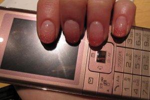 SoftBank 822P slim design prepaid phone