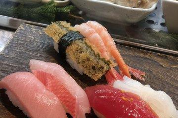 Sushi Cyoh in Tsukiji