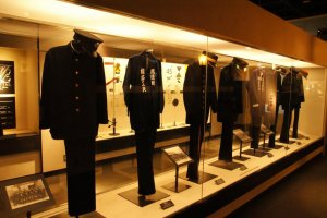 Uniforms from a bygone era
