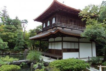 Những khu vườn Thiền rêu phong ở Ginkakuji
